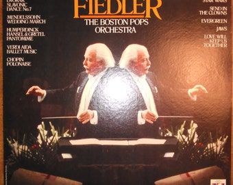 Arthur Fiedler and The Boston Pops - The Two Sides of Fiedler SPC-21190 Vinyl Record LP 1980