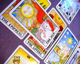 General Tarot reading for all aspects of your life. SAME DAY