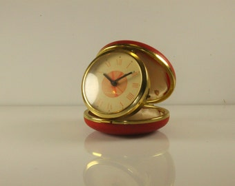 Vintage 70s Westclox Travel alarm clock