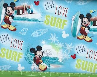 Micky Loves to Surf,Springs Fabrics