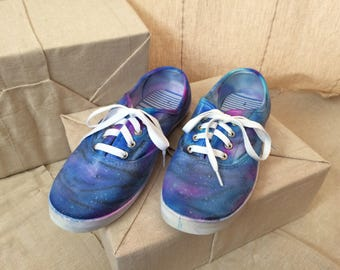 Galaxy Sparkle Sneakers