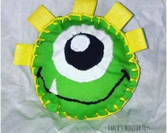 Electric Green Mini Monster