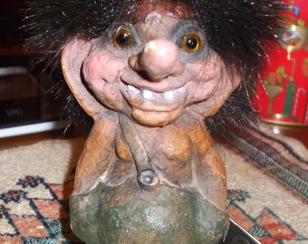 c. Nyform Troll #118, nyform trolls, nyform, trolls, troll collectibles, troll collection, troll number 118 - 1965