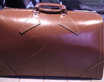 TRAVEL DOCTOR'S BAG - Leather