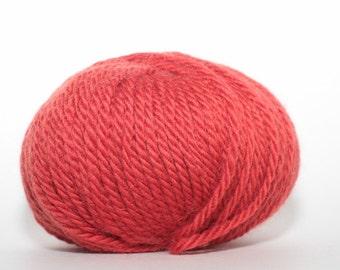 Ella Rae Kamelsoft, color 115, Lot 502    red/orange