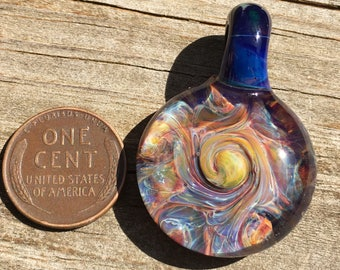 Multi Color Twist Pendant