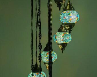 Turkish lamps,floor lamps,housewarming gifts,mason jar decor,lantern,rustic lamp shade,unique lamp design,nursery lampshade,boho lamp shade
