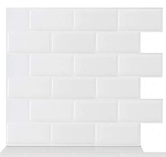 Tic Tac Tiles 174 High Quality Mosaic Peel And Stick Wall Tile In