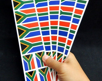 40 Tattoos: South Africa Flag, S. African Party Favors