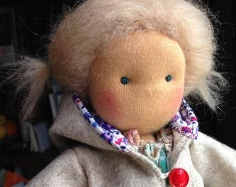 Waldorf Doll - Steiner Doll - Art Doll - Fabric Doll - Textile Toy