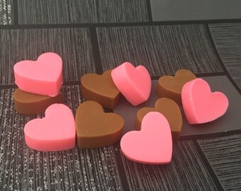 Chocolate Stawberry Mini Melts, Soy Wax Melts, Soy Wax Mini Melts, Luxury Mini Melts, Soy Wax Heart Melts, Scented Wax Melts, Home Fragrance