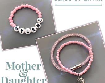 Mommy & baby bracelets