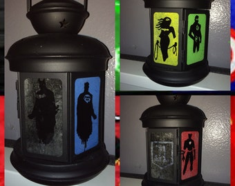 Justice League inspired lantern/nightlight