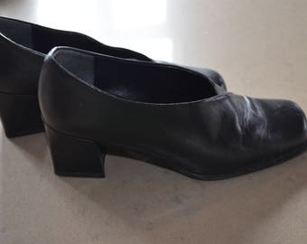 Code FOREVER15: 15% + reduced SHIPPING! Shoes leather Aldo 90' made in Italy 36