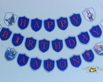 Zelda Birthday Banner, Zelda Theme Birthday Banner, Zelda Banner