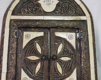 authentic Moroccan mirror/silver /brass/copper mirror