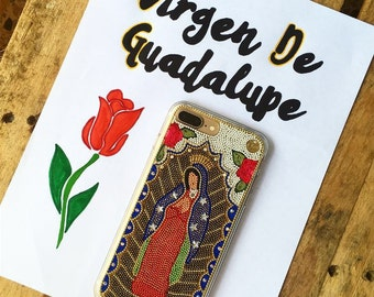 Virgen De Guadalupe Our Lady of Guadalupe Religious  iPhone 7, 7 Plus, 6s, 5c, iphone 6 plus case iphone  Cover Guadalupe phone case