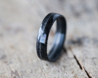 Wooden Black Ring
