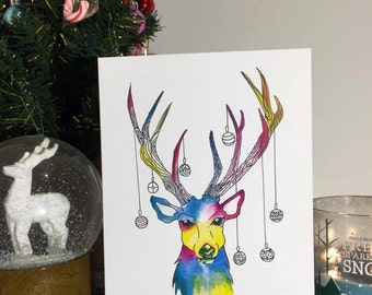 Deerest Christmas Card