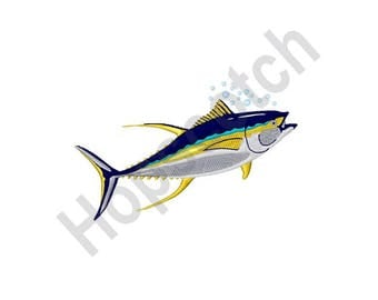 Tuna Fish - Machine Embroidery Design