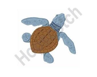 Sea Turtle - Machine Embroidery Design