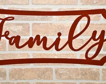 Family Mottona Sign