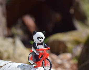 Lego Photography - Panda on a Bike
