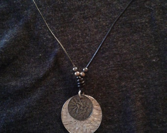 Silpada .925 Sterling Silver and Leather Necklace PRICE LOWERED!
