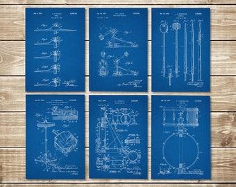 Drum Nursery, Patent Print Group, Drum Art Poster, Drummer Decor, Drum Nursery Decor, Drum Art Print, Drum Set Print, Art, INSTANT DOWNLOAD