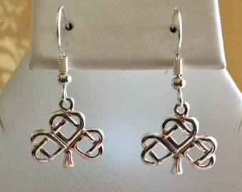 Celtic Tree Sterling Silver Earrings
