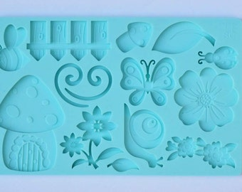 Enchanted Garden Theme Mold