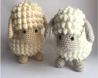 Crochet amigurumi pattern: Sheep