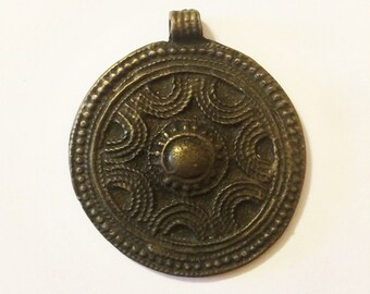 South African Metal Pendant