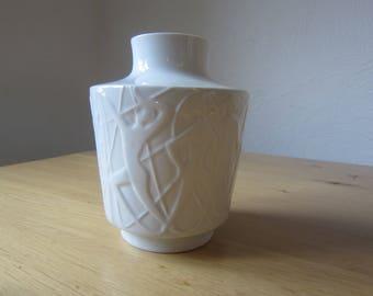 Edelstein porcelain mid century modern 60s relief vase