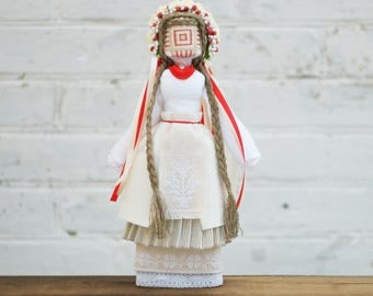 Motanka Ethnic Folk Traditional Handmade charm Ukrainian Doll Unique gift for her from EcoMotanka, ooak doll