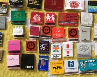 All these matchbooks including Ritz hotel match book from the 1960s complete with matches each printed with Ritz Hotel