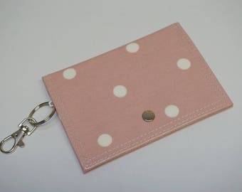 The Little Mimi Coin Purse - Pink Dotty