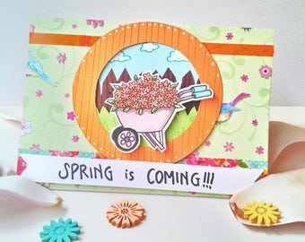 Birthday Card - Spring is Coming