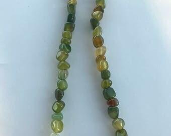Agate Jasper & Quartz Necklace