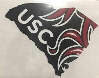University of South Carolina/USC Vinyl Decal
