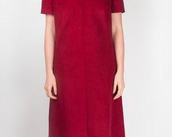 Red Cord Tunic Dress