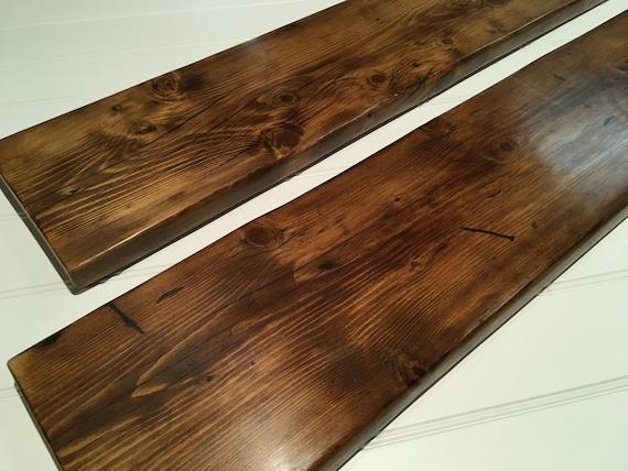 Reclaimed wood shelves wall shelves book shelves free uk for Shelves made from reclaimed wood