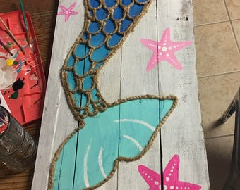 Mermaid Tail Wall Decor