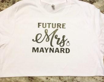 Future Mrs. Bride shirt