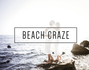 Beach Craze Indie Muse Collection 3 Presets  4 Tool Presets 9 LR Brushes Lightroom Presets for Professional Results by LouMarksPhoto