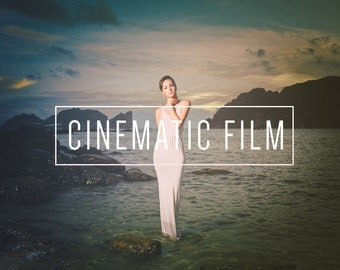 Cinematic Film Preset Indie Muse Collection 3 Presets 4 Tools  9 LR Brushes Lightroom Presets for Professional Results by LouMarksPhoto