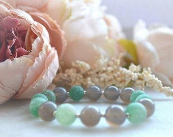"Agate bracelet ""Under the SEA"""