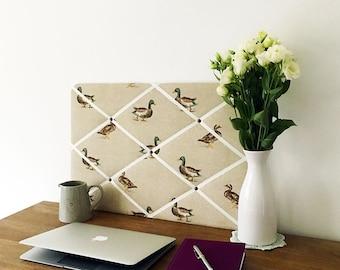 Natural Ducks Pinboard