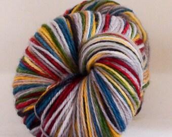 Beastly Self-Striping Sock Yarn: Sorted (Darker Gray)