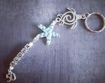 """Key ring """"Starfish"""""""